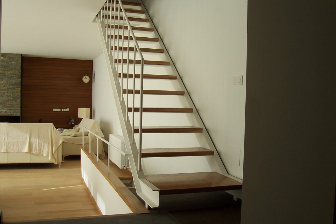 Escalera en pared