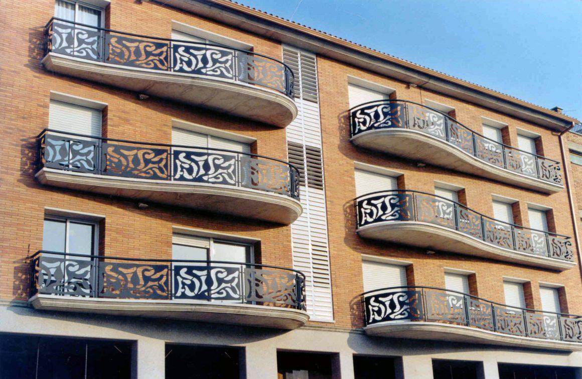 Barandas exterior pisos