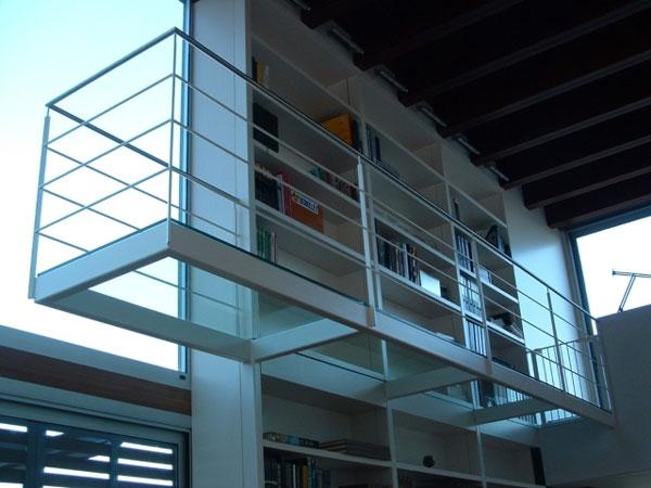 Balcón librería