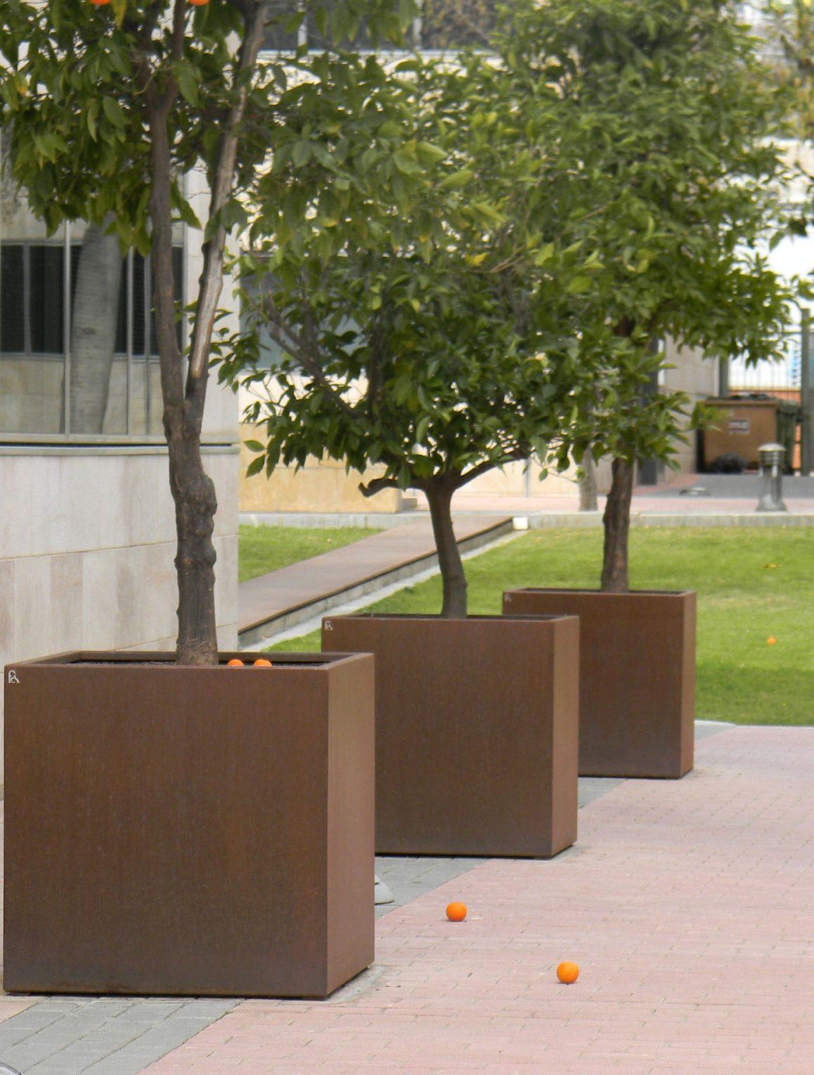 Jardineras rectangulares