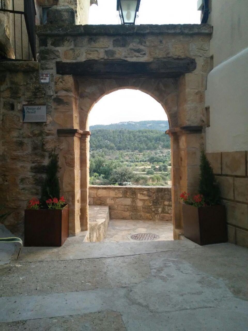 Jardineras entrada