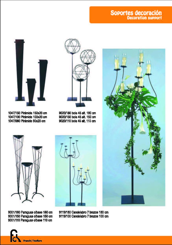 Soportes decoración - candelabro